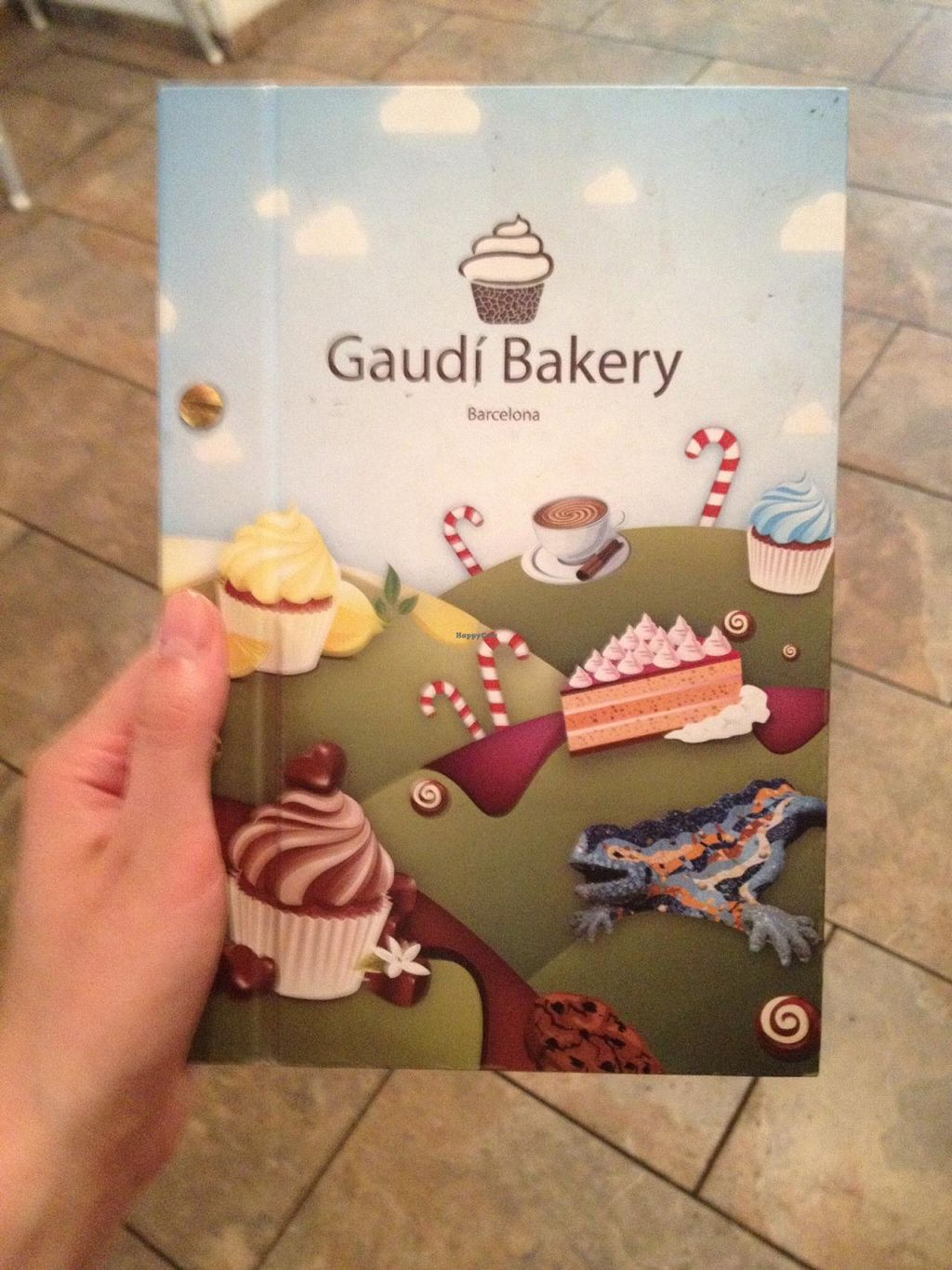 "Photo of Gaudi Bakery  by <a href=""/members/profile/kelwood13"">kelwood13</a> <br/>Menu cover <br/> June 22, 2015  - <a href='/contact/abuse/image/59683/106881'>Report</a>"