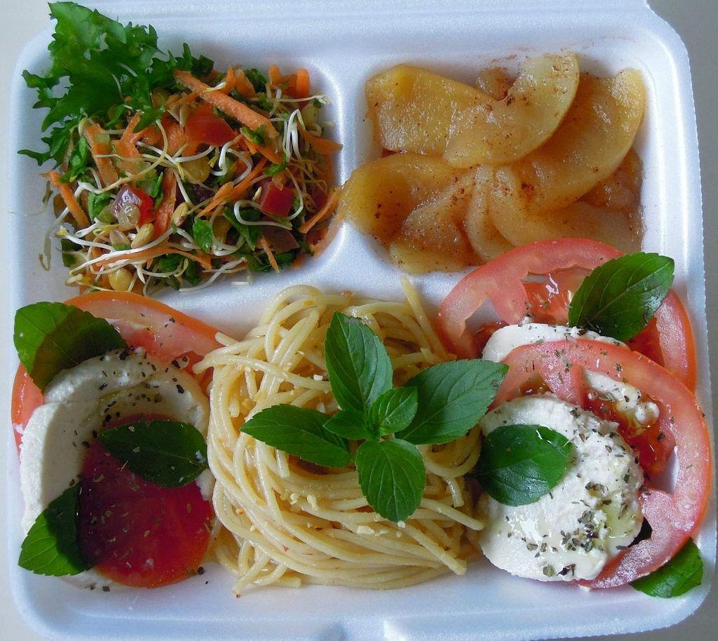 Photo of Viva la Veggie  by Viva la Veggie <br/>Italian vegan caprese with homemade 'mozzarella di bufala' <br/> July 7, 2015  - <a href='/contact/abuse/image/59685/108505'>Report</a>