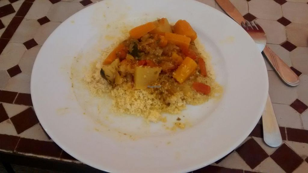 "Photo of Le Safran  by <a href=""/members/profile/JonJon"">JonJon</a> <br/>Vegan couscous <br/> June 23, 2015  - <a href='/contact/abuse/image/59688/107030'>Report</a>"