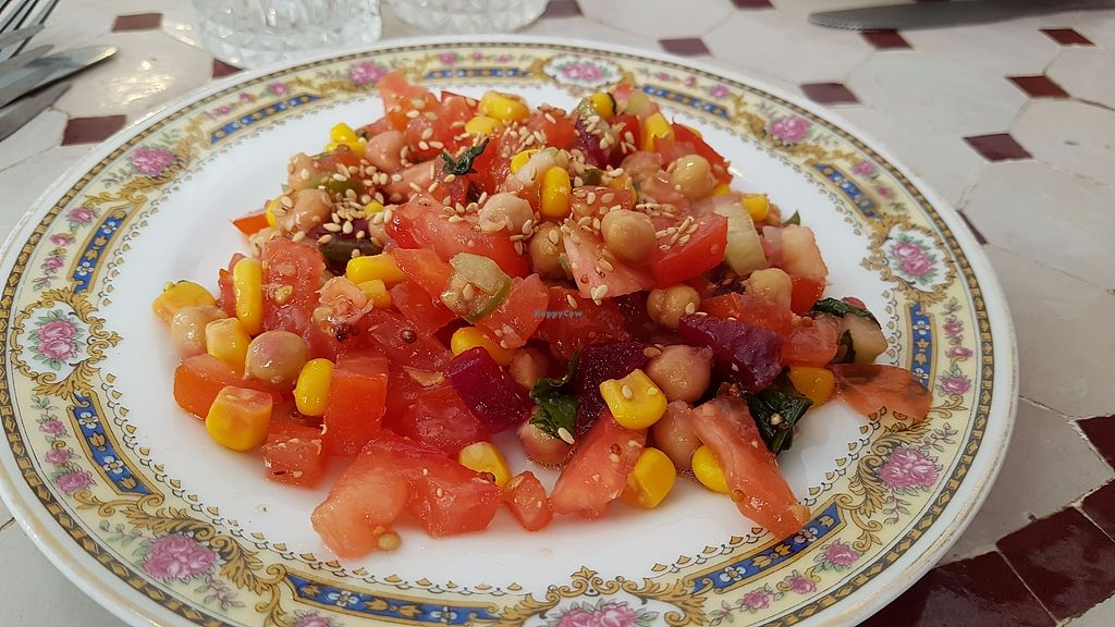 "Photo of Le Safran  by <a href=""/members/profile/JonJon"">JonJon</a> <br/>Morrocan salad <br/> August 3, 2017  - <a href='/contact/abuse/image/59688/288205'>Report</a>"