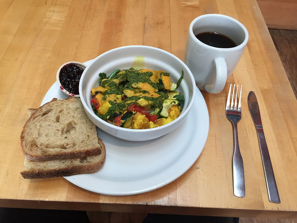 "Photo of Sola Cafe  by <a href=""/members/profile/IzzyJanx"">IzzyJanx</a> <br/>Tofu scramble breakfast bowl! <br/> March 24, 2018  - <a href='/contact/abuse/image/59792/375414'>Report</a>"