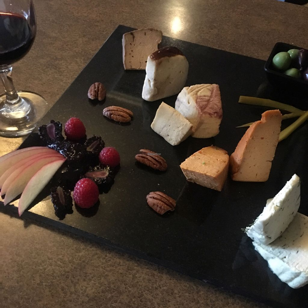 """Photo of Vtopia Cheese Shop and Deli  by <a href=""""/members/profile/vegancheeks"""">vegancheeks</a> <br/>5 cheese sampler, chefs choice <br/> June 11, 2016  - <a href='/contact/abuse/image/59803/153358'>Report</a>"""