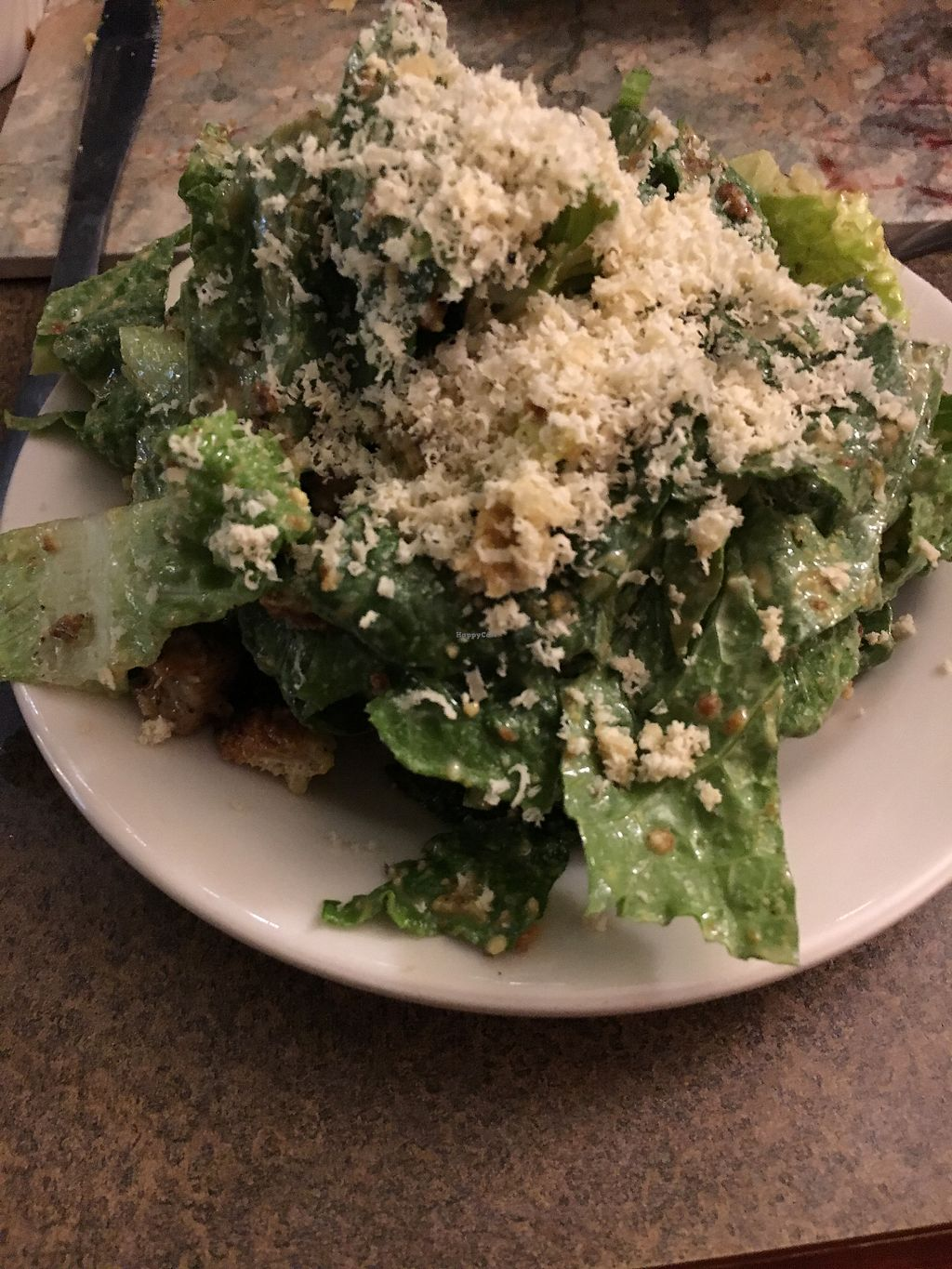 """Photo of Vtopia Cheese Shop and Deli  by <a href=""""/members/profile/kaleyeah87"""">kaleyeah87</a> <br/>Caesar salad-really good ?  <br/> December 31, 2017  - <a href='/contact/abuse/image/59803/341155'>Report</a>"""