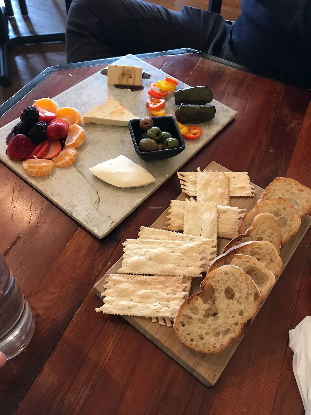 """Photo of Vtopia Cheese Shop and Deli  by <a href=""""/members/profile/NSmoke"""">NSmoke</a> <br/>Cheese platter! <br/> February 6, 2018  - <a href='/contact/abuse/image/59803/355529'>Report</a>"""