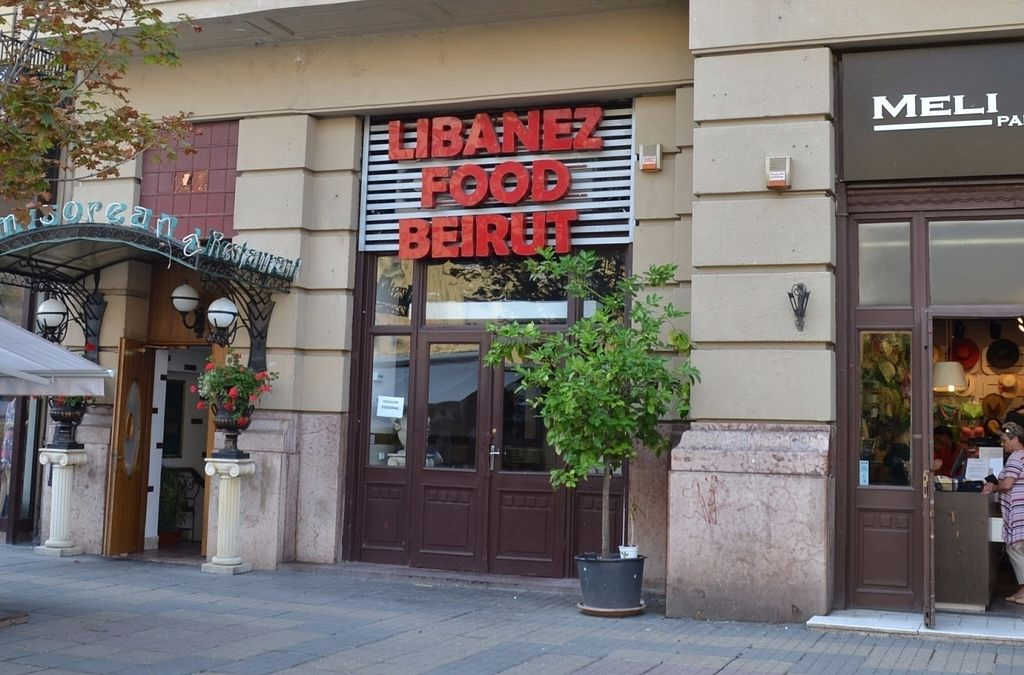 """Photo of Beirut Fast-Food Libanez  by <a href=""""/members/profile/alexandra_vegan"""">alexandra_vegan</a> <br/>Fast Food <br/> August 2, 2016  - <a href='/contact/abuse/image/59818/164613'>Report</a>"""