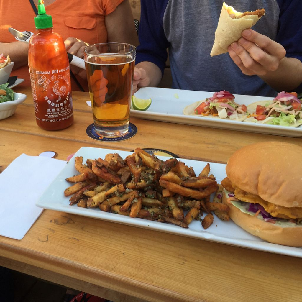 "Photo of The Buckingham  by <a href=""/members/profile/Madimassacre"">Madimassacre</a> <br/>fish sandwich on the patio <br/> November 12, 2016  - <a href='/contact/abuse/image/59824/189036'>Report</a>"