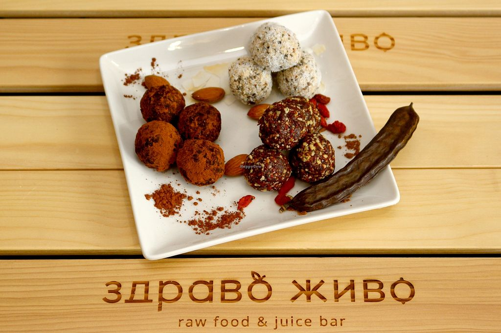 Photo of Zdravo Zivo  by Irina B <br/>Raw vegan chocolate and goji sweets  <br/> January 19, 2016  - <a href='/contact/abuse/image/59846/133008'>Report</a>