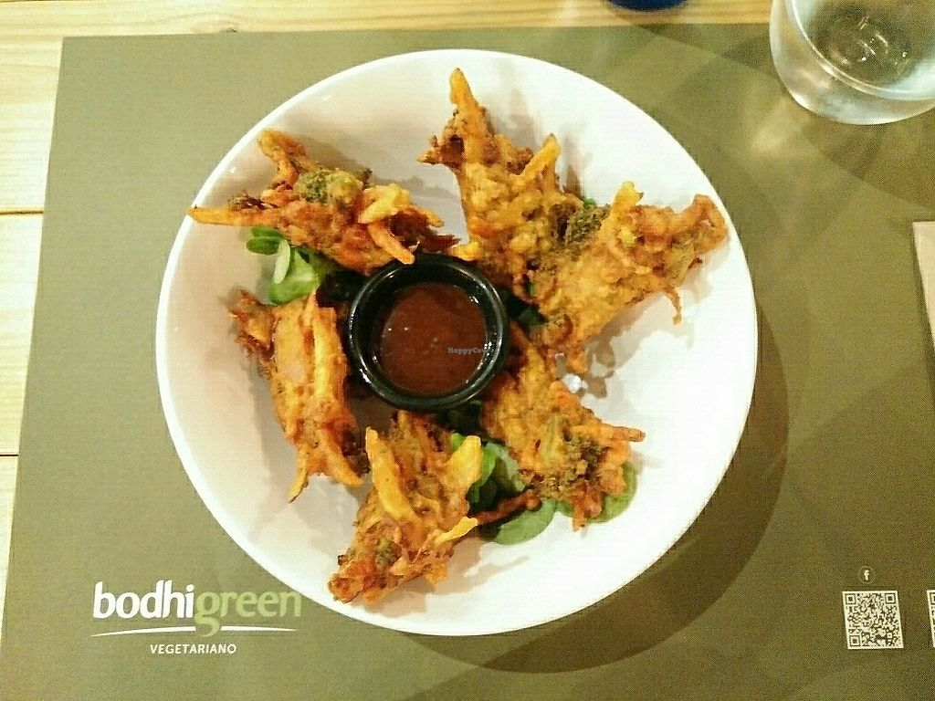 "Photo of BodhiGreen Vegetariano  by <a href=""/members/profile/martinicontomate"">martinicontomate</a> <br/>pakoras <br/> July 21, 2017  - <a href='/contact/abuse/image/59859/283027'>Report</a>"