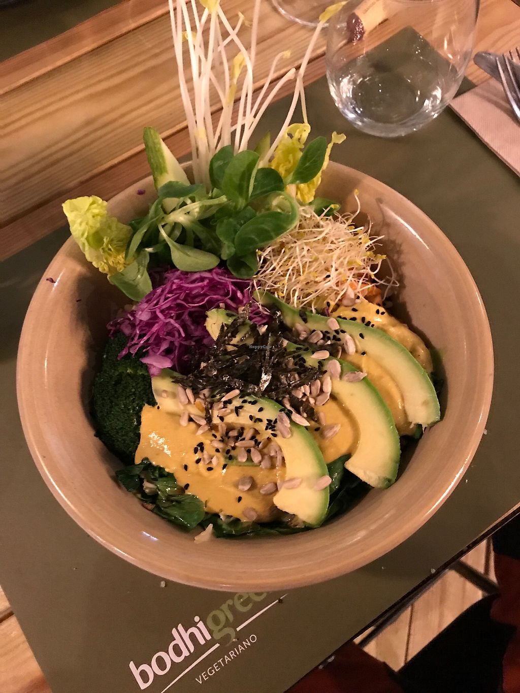 "Photo of BodhiGreen Vegetariano  by <a href=""/members/profile/rdraether"">rdraether</a> <br/>Very delicious Japanese bowl. :oP <br/> December 21, 2017  - <a href='/contact/abuse/image/59859/337731'>Report</a>"