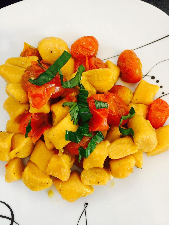 "Photo of Purolove Vegan Gourmet  by <a href=""/members/profile/Purolove"">Purolove</a> <br/>Sweet Potato Gnocchi <br/> June 23, 2015  - <a href='/contact/abuse/image/59863/107132'>Report</a>"