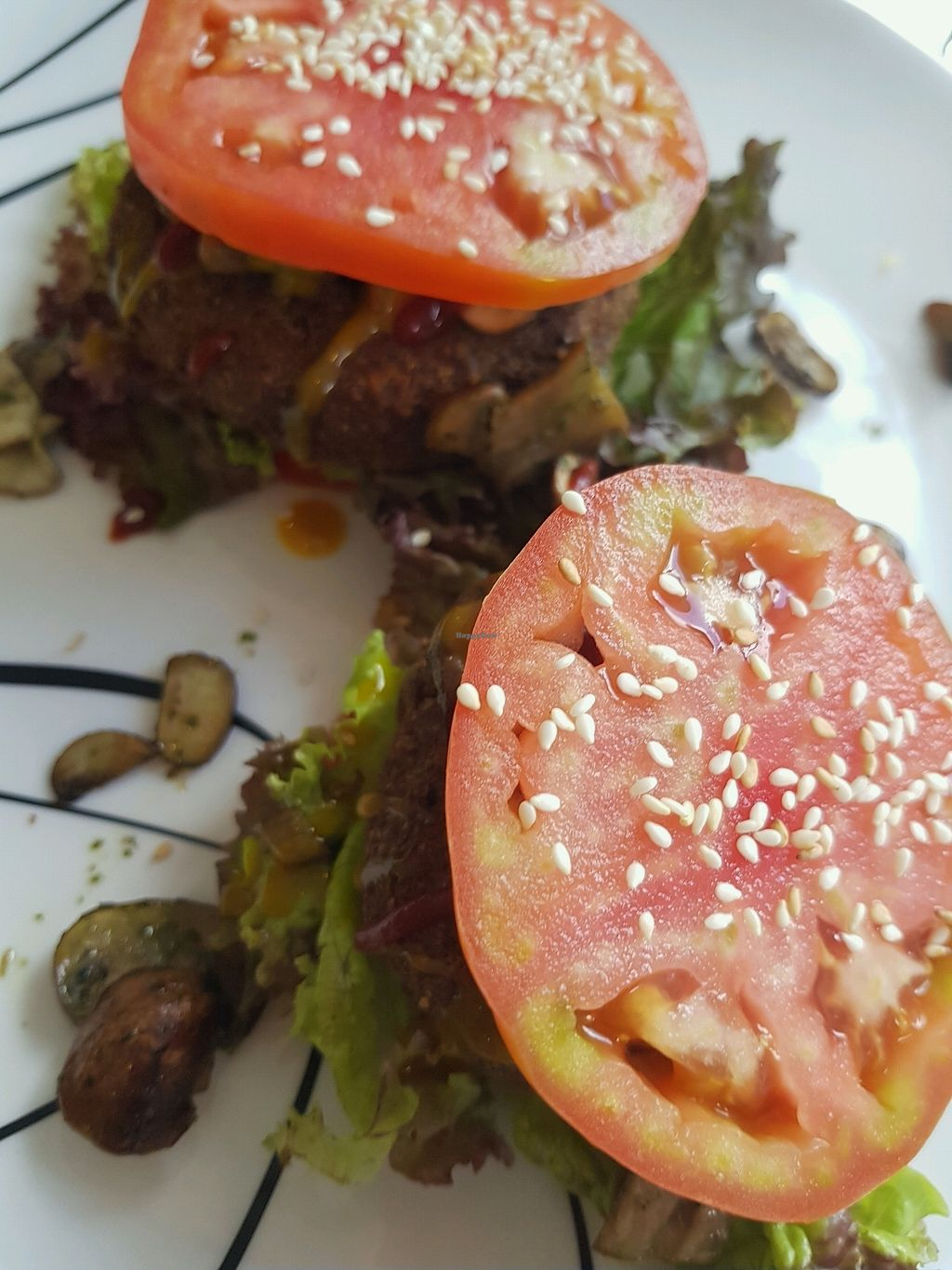 """Photo of Purolove Vegan Gourmet  by <a href=""""/members/profile/Cynthiab"""">Cynthiab</a> <br/>the burger <br/> February 4, 2018  - <a href='/contact/abuse/image/59863/354853'>Report</a>"""