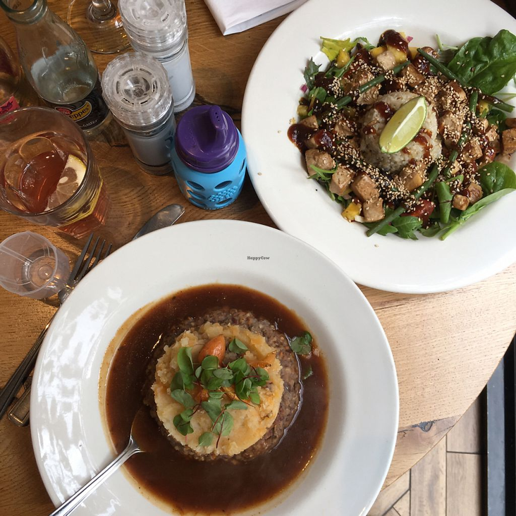 """Photo of Henderson's Vegan  by <a href=""""/members/profile/FionaMarie"""">FionaMarie</a> <br/>haggis and coconut tofu yum!!!  <br/> May 16, 2017  - <a href='/contact/abuse/image/59873/259238'>Report</a>"""