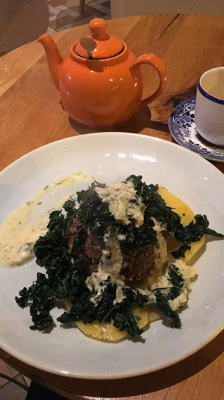 """Photo of Henderson's Vegan  by <a href=""""/members/profile/BecCarter"""">BecCarter</a> <br/>Vegan Haggis <br/> January 15, 2018  - <a href='/contact/abuse/image/59873/346923'>Report</a>"""
