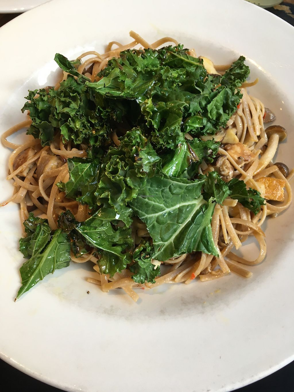 """Photo of Henderson's Vegan  by <a href=""""/members/profile/xveganladyx"""">xveganladyx</a> <br/>Mushroom Linguine <br/> February 10, 2018  - <a href='/contact/abuse/image/59873/357355'>Report</a>"""