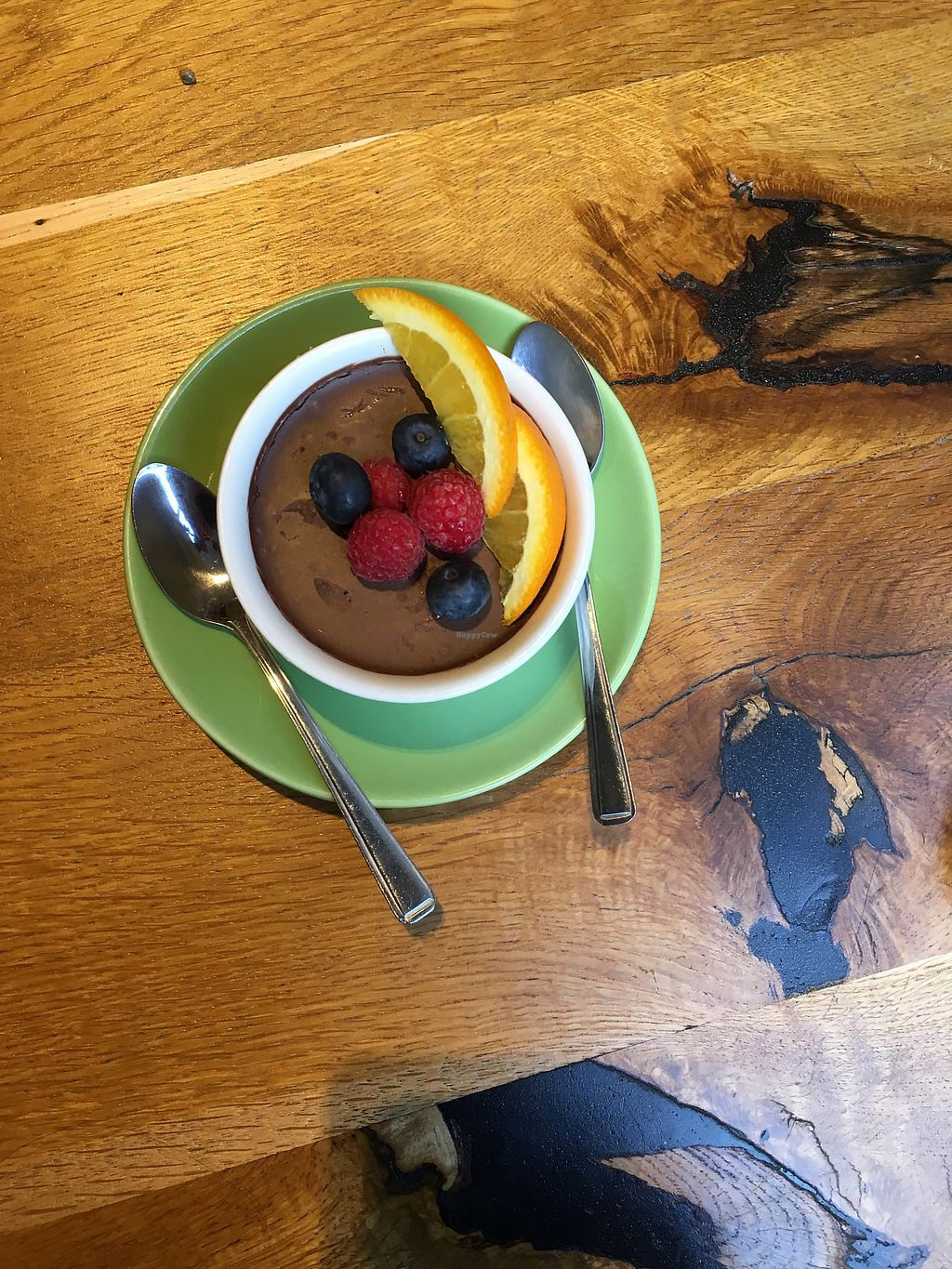 """Photo of Henderson's Vegan  by <a href=""""/members/profile/xveganladyx"""">xveganladyx</a> <br/>Chocolate Mousse <br/> February 10, 2018  - <a href='/contact/abuse/image/59873/357356'>Report</a>"""