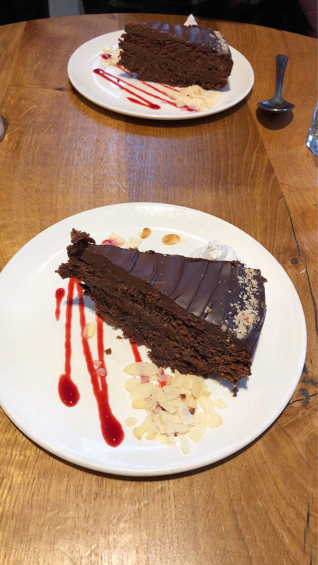 """Photo of Henderson's Vegan  by <a href=""""/members/profile/jessicajmac"""">jessicajmac</a> <br/>Chocolate/Nut cake  <br/> April 10, 2018  - <a href='/contact/abuse/image/59873/383508'>Report</a>"""