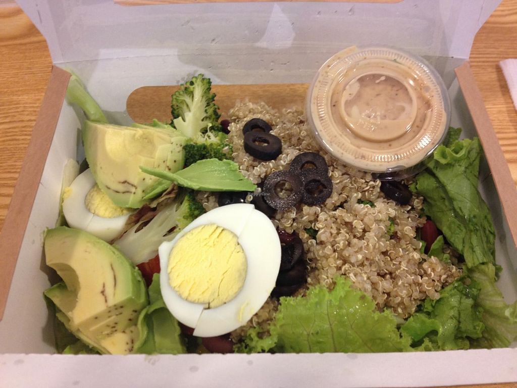 "Photo of CLOSED: Light Salad  by <a href=""/members/profile/SP"">SP</a> <br/>quinoa & avocado salad, with sesame dressing <br/> June 26, 2015  - <a href='/contact/abuse/image/59876/107314'>Report</a>"