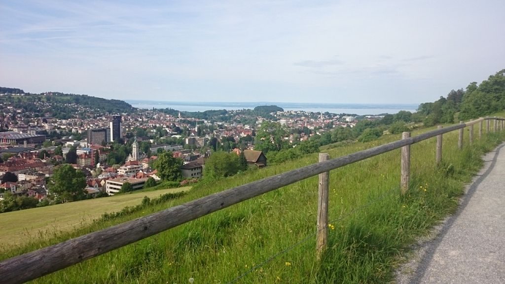 """Photo of Dreilinden  by <a href=""""/members/profile/Mwynen"""">Mwynen</a> <br/>Wonderful view down to Lake Constance and St. Gallen <br/> September 19, 2015  - <a href='/contact/abuse/image/59892/118393'>Report</a>"""