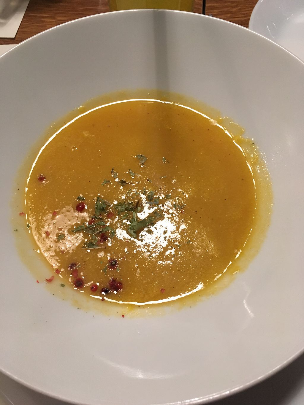 "Photo of Nonna  by <a href=""/members/profile/hokusai77"">hokusai77</a> <br/>Pumpkin ginger soup <br/> December 30, 2017  - <a href='/contact/abuse/image/59899/341049'>Report</a>"
