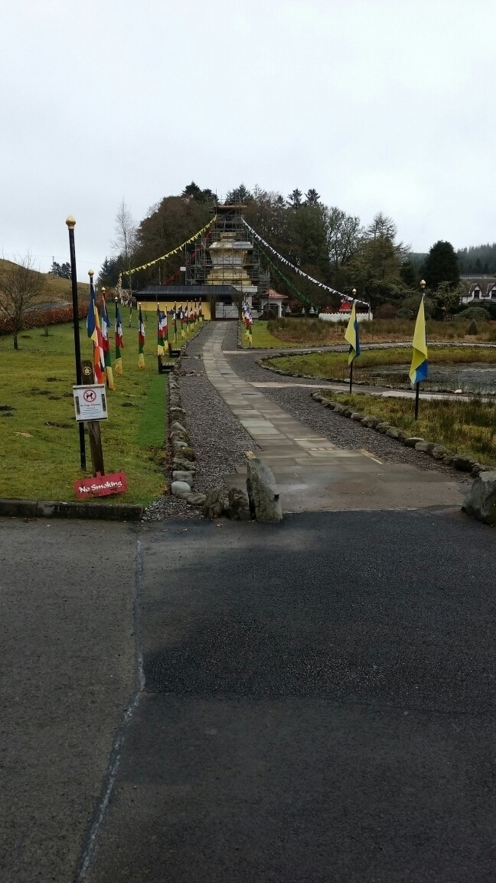 "Photo of Kagyu Samye Ling Monastery and Tibetan Centre  by <a href=""/members/profile/craigmc"">craigmc</a> <br/>entrance <br/> March 4, 2017  - <a href='/contact/abuse/image/59905/232515'>Report</a>"