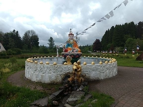 "Photo of Kagyu Samye Ling Monastery and Tibetan Centre  by <a href=""/members/profile/craigmc"">craigmc</a> <br/>fountain of youth <br/> June 12, 2017  - <a href='/contact/abuse/image/59905/268342'>Report</a>"