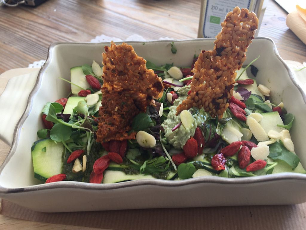 """Photo of Organic Market and Food  by <a href=""""/members/profile/Joliveandletlive"""">Joliveandletlive</a> <br/>raw vegan lasagne <br/> March 8, 2017  - <a href='/contact/abuse/image/59913/234172'>Report</a>"""