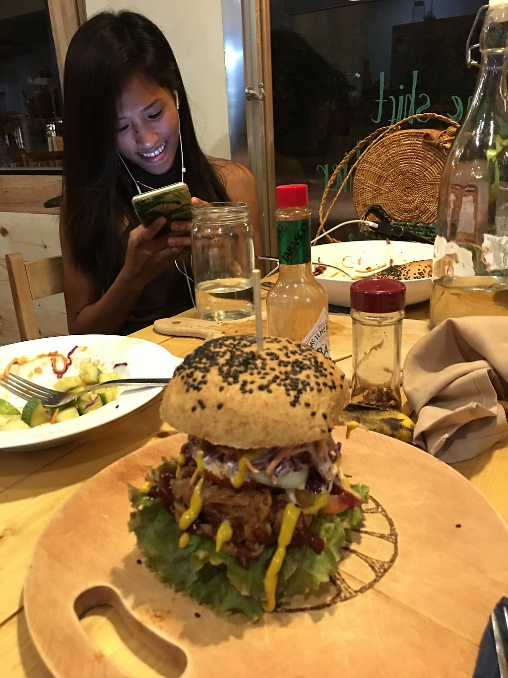 """Photo of The Vegan Dinosaur  by <a href=""""/members/profile/Durianrider"""">Durianrider</a> <br/>Burgers <br/> October 11, 2017  - <a href='/contact/abuse/image/59921/314191'>Report</a>"""