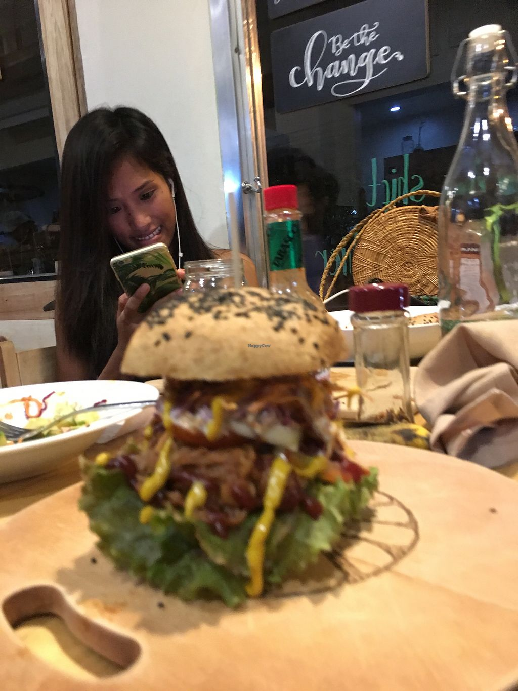 """Photo of The Vegan Dinosaur  by <a href=""""/members/profile/Durianrider"""">Durianrider</a> <br/>Burgers  <br/> October 11, 2017  - <a href='/contact/abuse/image/59921/314192'>Report</a>"""
