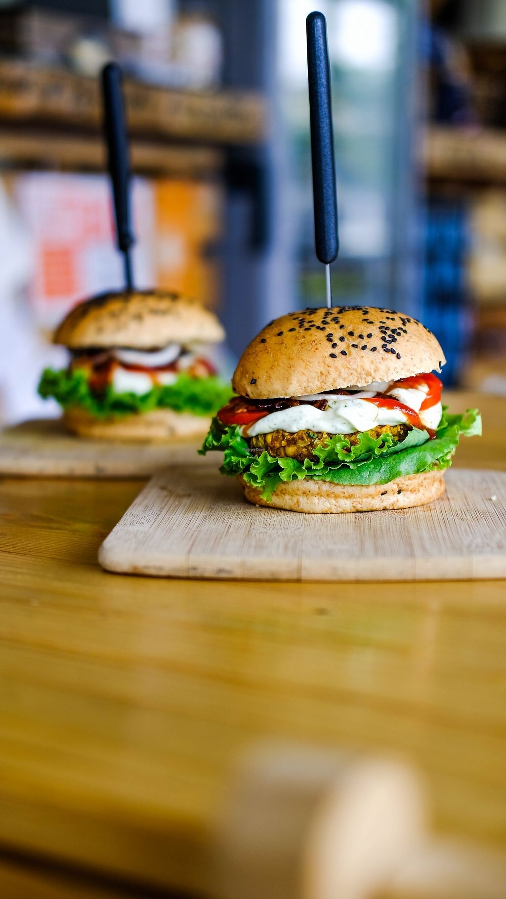 """Photo of The Vegan Dinosaur  by <a href=""""/members/profile/TheVeganDinosaur"""">TheVeganDinosaur</a> <br/>Vege Burger <br/> October 11, 2017  - <a href='/contact/abuse/image/59921/314273'>Report</a>"""