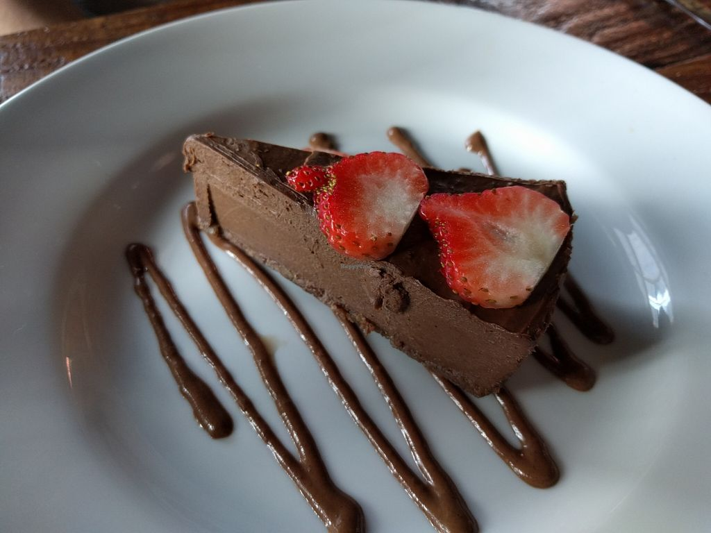 "Photo of CLOSED: Chavela Restaurant  by <a href=""/members/profile/Sonja%20and%20Dirk"">Sonja and Dirk</a> <br/>chocolate cheesecake <br/> February 15, 2016  - <a href='/contact/abuse/image/59939/136430'>Report</a>"