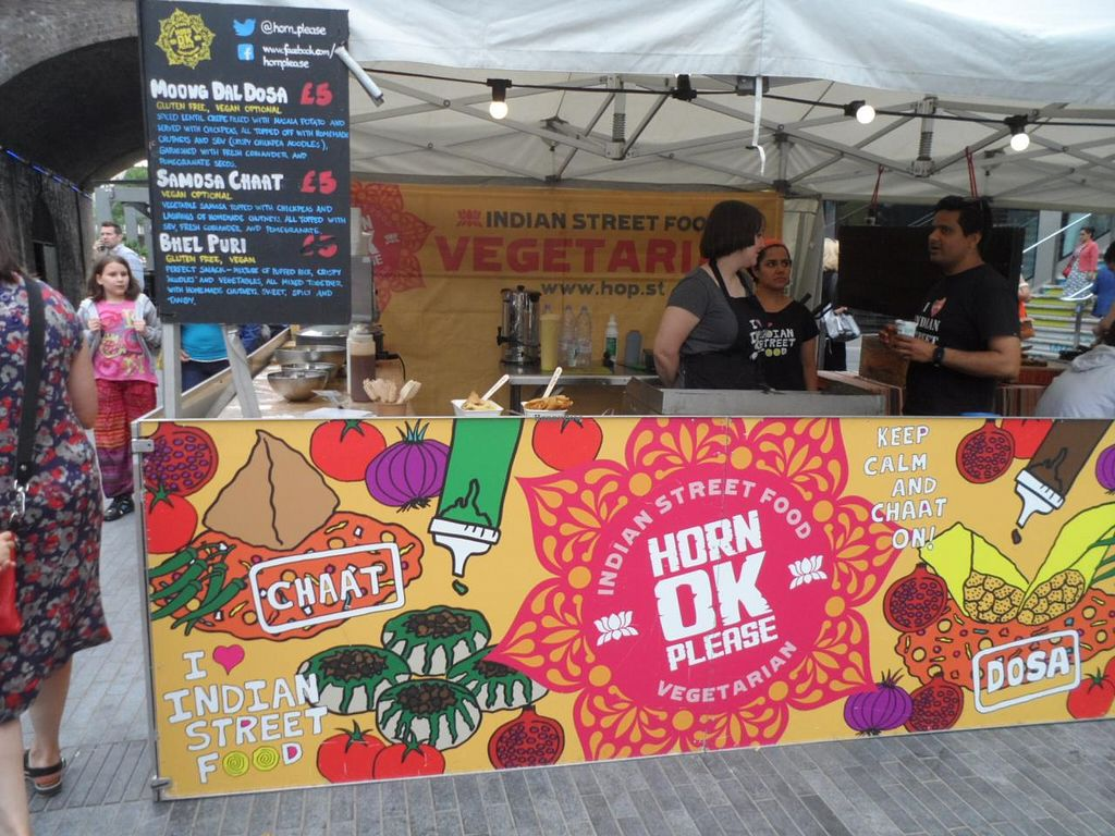 """Photo of Horn Ok Please - Food Stall  by <a href=""""/members/profile/Clare"""">Clare</a> <br/>Stall at Southbank <br/> June 26, 2015  - <a href='/contact/abuse/image/59959/107418'>Report</a>"""