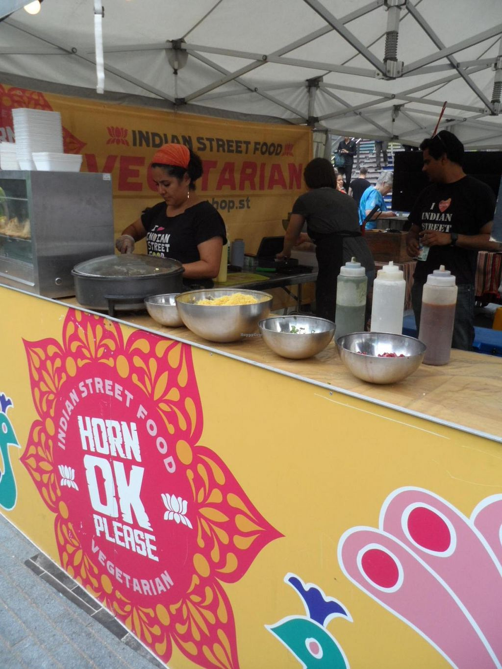 """Photo of Horn Ok Please - Food Stall  by <a href=""""/members/profile/Clare"""">Clare</a> <br/>Side of Stall <br/> June 26, 2015  - <a href='/contact/abuse/image/59959/107422'>Report</a>"""