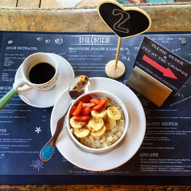 """Photo of Smoothie Shop Juice & Breakfast Bar  by <a href=""""/members/profile/Sammybrownie247"""">Sammybrownie247</a> <br/>oatmeal & banana porridge with cashew milk (YUM) <br/> September 11, 2016  - <a href='/contact/abuse/image/59963/174942'>Report</a>"""