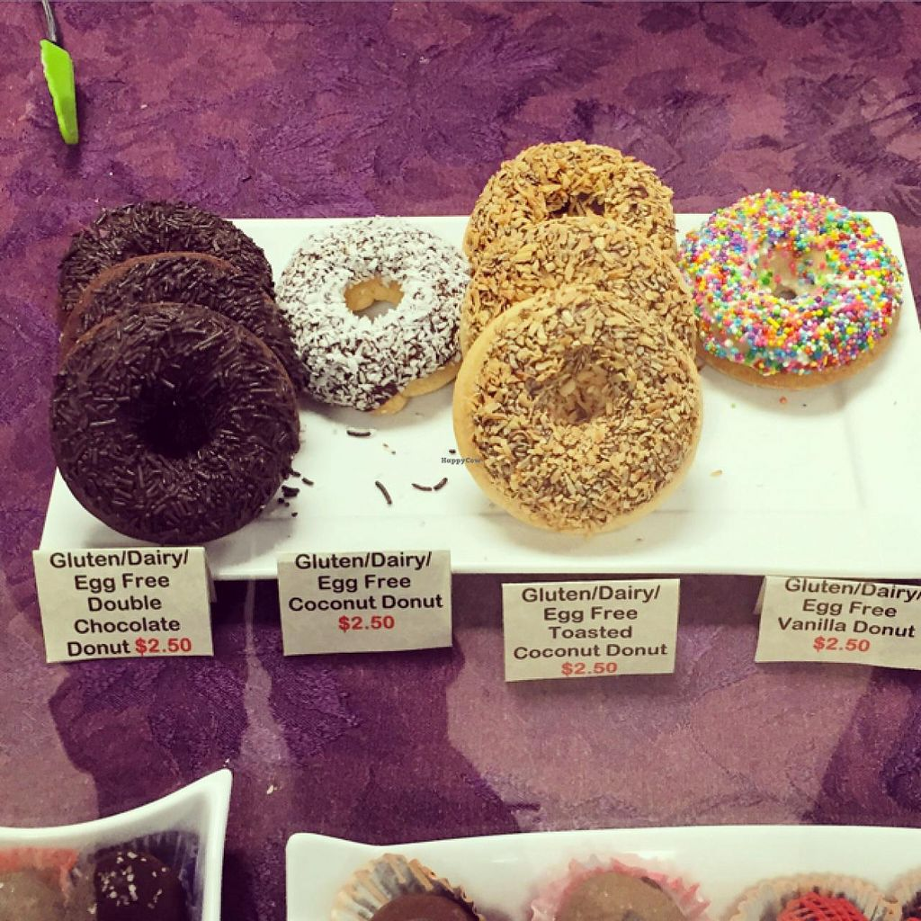 """Photo of St John's Farmers Market  by <a href=""""/members/profile/scallen"""">scallen</a> <br/>Baked GF vegan donuts by Gluten Free Treasures <br/> June 27, 2015  - <a href='/contact/abuse/image/59970/107469'>Report</a>"""
