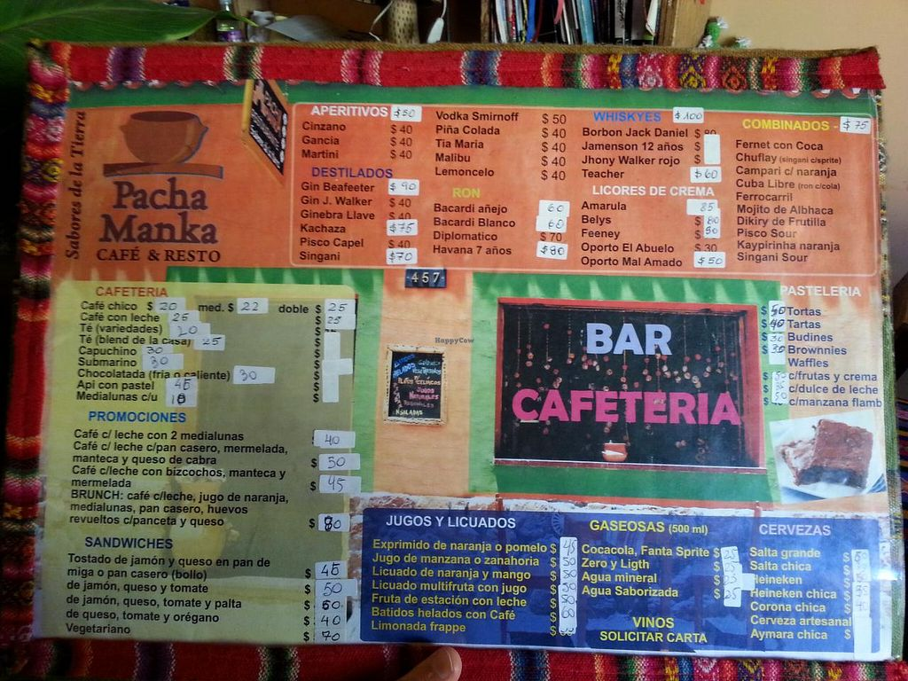 """Photo of Pacha Manka  by <a href=""""/members/profile/liz88"""">liz88</a> <br/>breakfast menu <br/> June 29, 2015  - <a href='/contact/abuse/image/59996/107609'>Report</a>"""