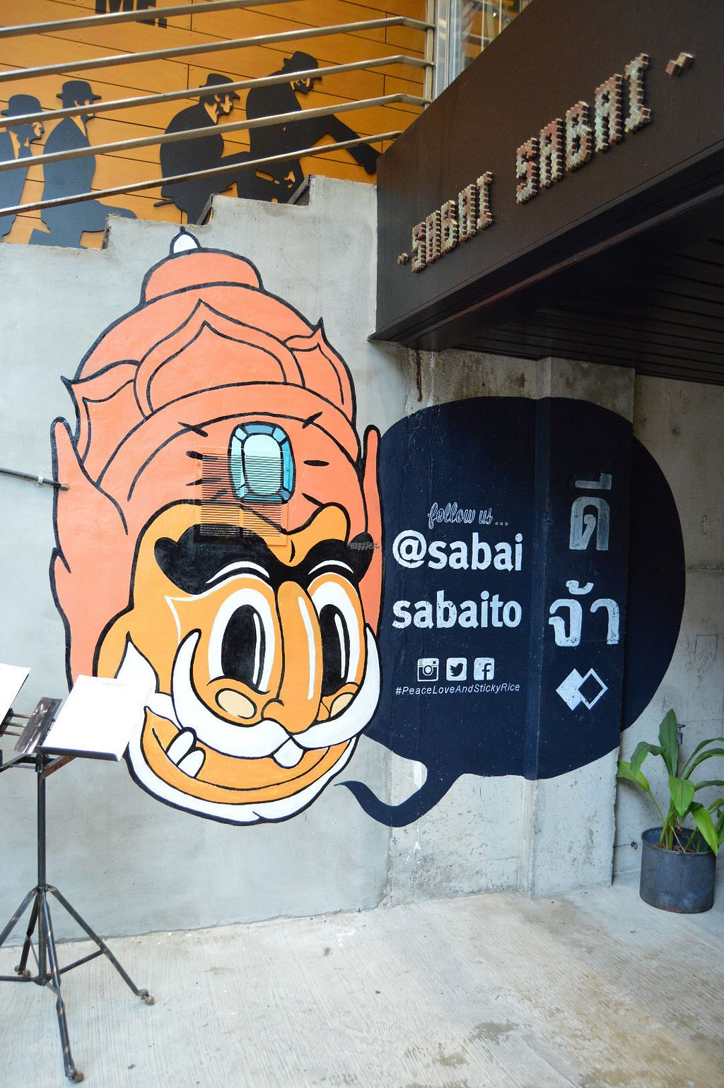 """Photo of Sabai Sabai  by <a href=""""/members/profile/Vegan%20GiGi"""">Vegan GiGi</a> <br/>Exterior of Sabai Sabai (new location on Bloor St East) <br/> October 21, 2016  - <a href='/contact/abuse/image/60010/183448'>Report</a>"""