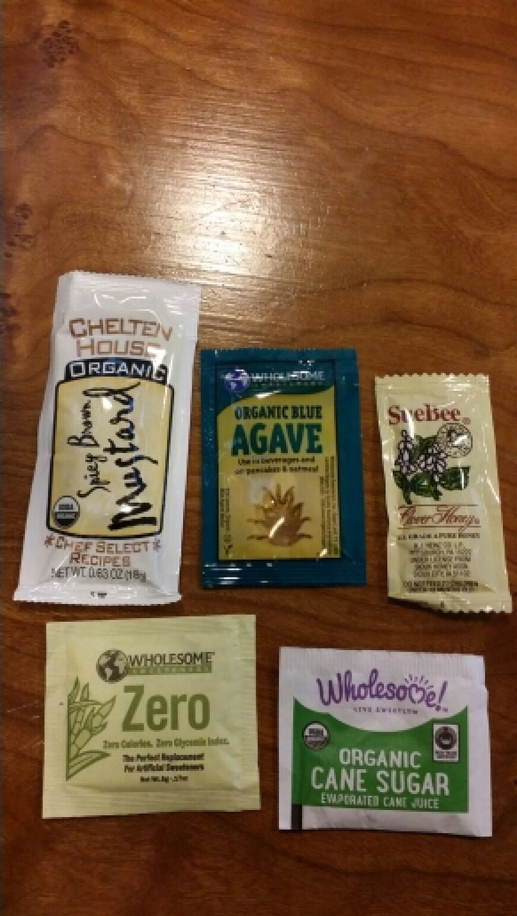 "Photo of Amy's Drive Thru  by <a href=""/members/profile/catbone"">catbone</a> <br/>Even Healthier Condiments <br/> February 16, 2016  - <a href='/contact/abuse/image/60011/136558'>Report</a>"