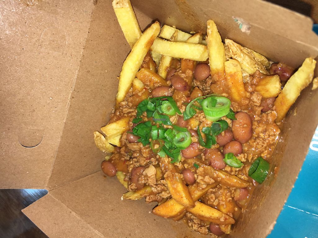 "Photo of Amy's Drive Thru  by <a href=""/members/profile/daroff"">daroff</a> <br/>Vegan Chili Fried <br/> April 11, 2017  - <a href='/contact/abuse/image/60011/247121'>Report</a>"