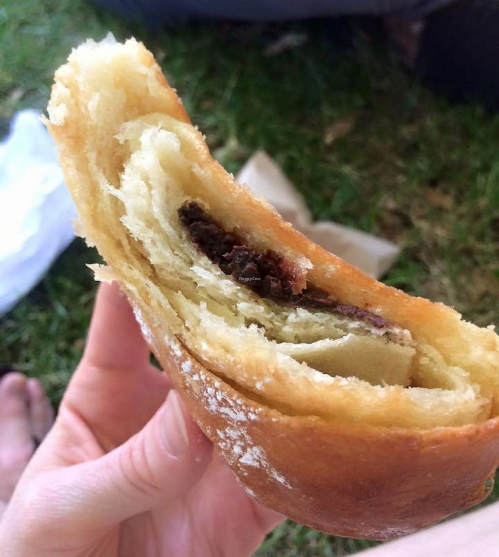 """Photo of Passion Flour Patisserie  by <a href=""""/members/profile/Meggie%20and%20Ben"""">Meggie and Ben</a> <br/>Pain au chocolat <br/> June 29, 2015  - <a href='/contact/abuse/image/60018/230619'>Report</a>"""