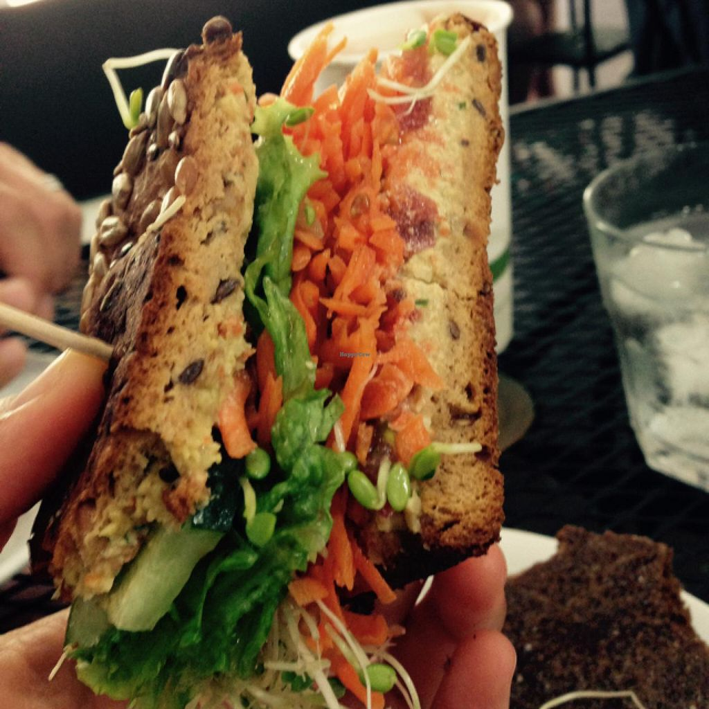 """Photo of Kaya's  by <a href=""""/members/profile/Labylala"""">Labylala</a> <br/>veggie sandwich with cashew spread <br/> June 29, 2015  - <a href='/contact/abuse/image/60021/107710'>Report</a>"""