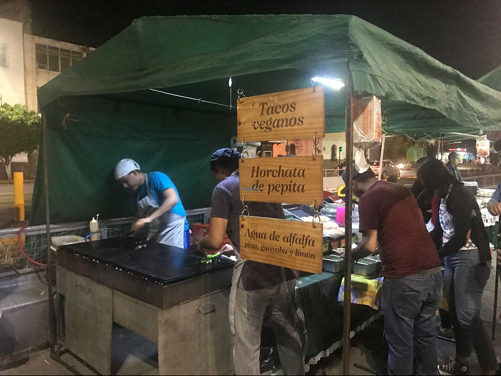 """Photo of Taqueria Calidad Vegana - Food Stall  by <a href=""""/members/profile/Mathew23"""">Mathew23</a> <br/>their stand (was always a line and way more popular than the non vegan taco stands) <br/> March 10, 2017  - <a href='/contact/abuse/image/60024/234926'>Report</a>"""