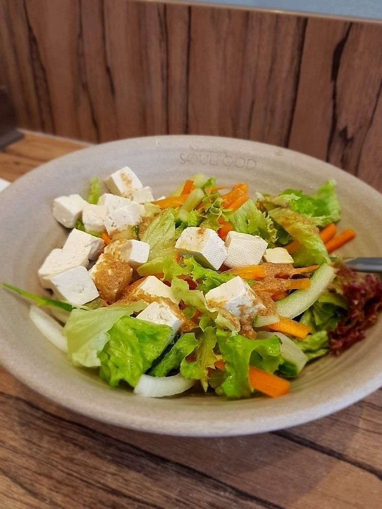 "Photo of SeoulFood  by <a href=""/members/profile/Monika93"">Monika93</a> <br/>Tofu salad <br/> July 9, 2017  - <a href='/contact/abuse/image/60031/278345'>Report</a>"