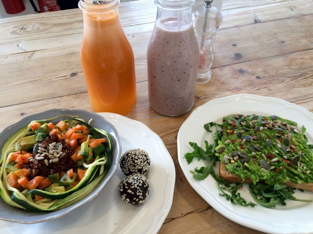 """Photo of So Pure  by <a href=""""/members/profile/Adele17"""">Adele17</a> <br/>an all vegan lunch! <br/> May 9, 2016  - <a href='/contact/abuse/image/60036/148152'>Report</a>"""