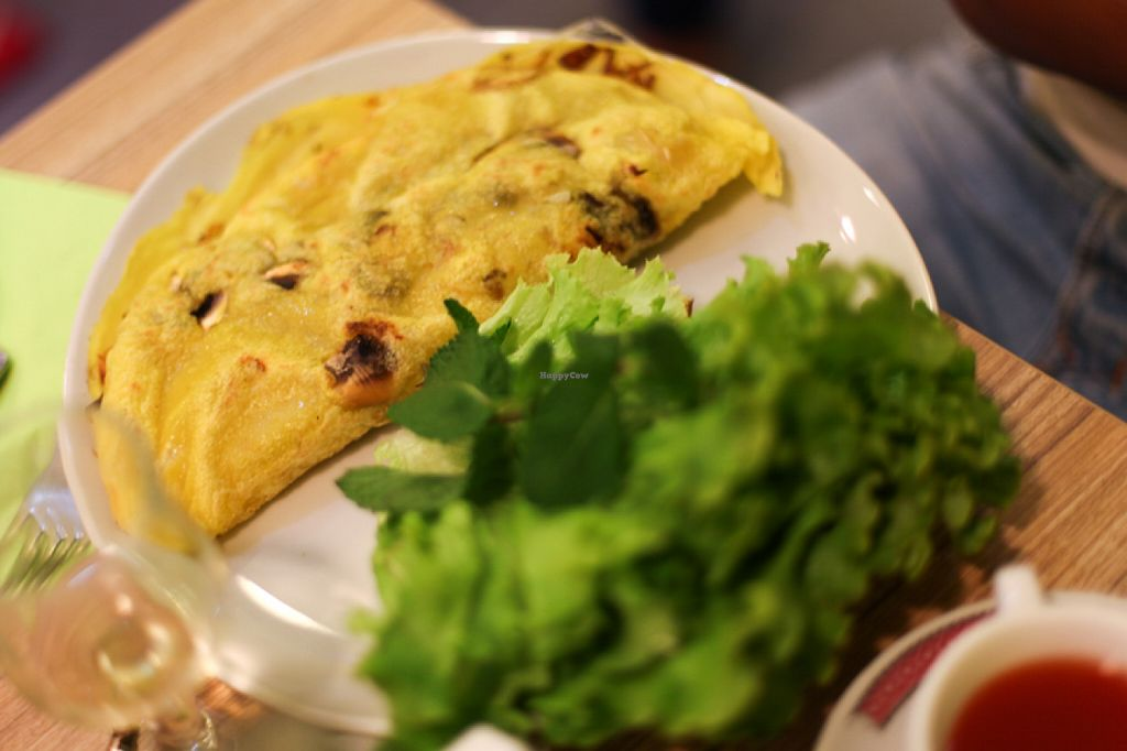 "Photo of Vege Saveurs  by <a href=""/members/profile/ital_vita"">ital_vita</a> <br/>Vietnamese crepe <br/> August 9, 2015  - <a href='/contact/abuse/image/60048/112821'>Report</a>"