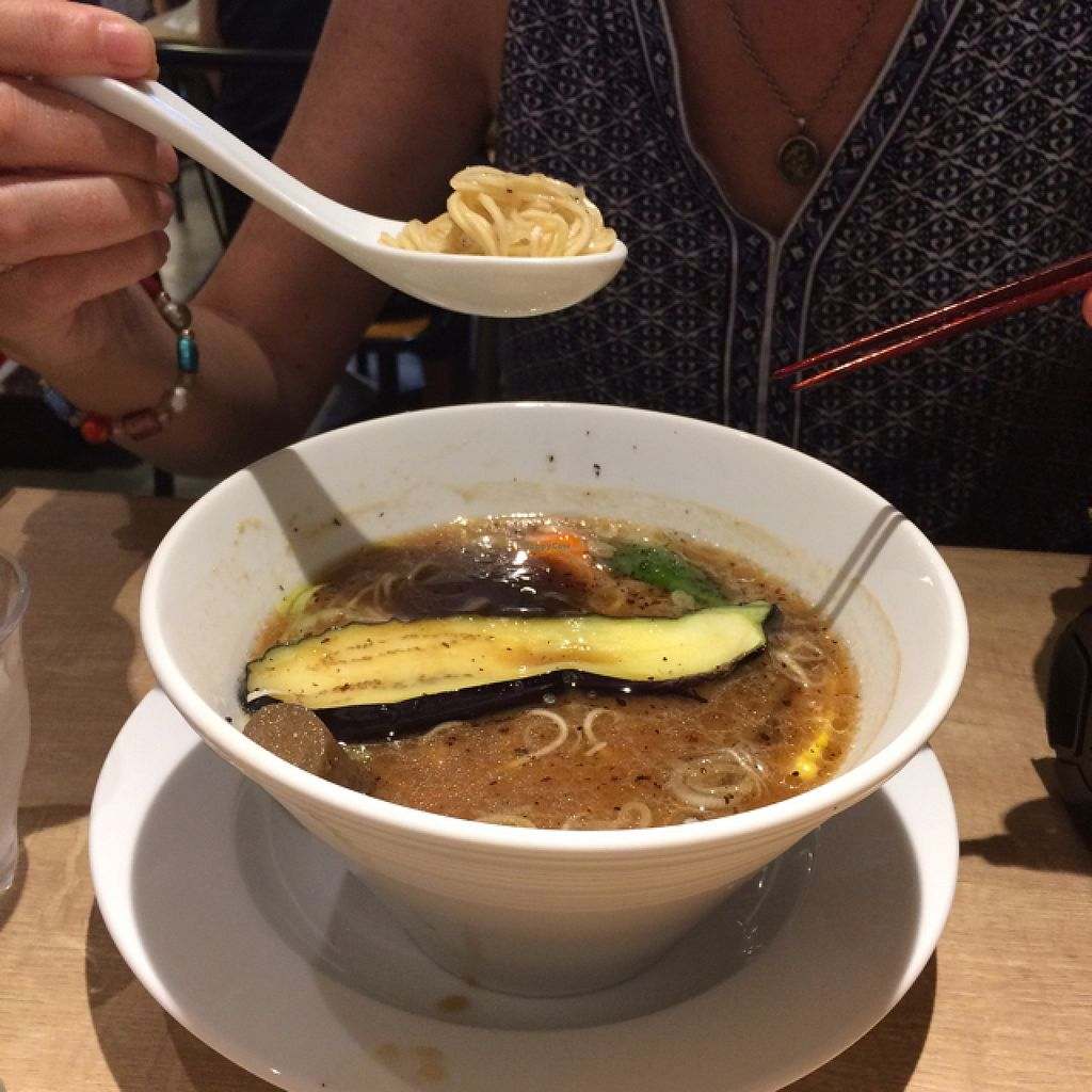"""Photo of CLOSED: Cafe the 6BT  by <a href=""""/members/profile/Ashlynn_White"""">Ashlynn_White</a> <br/>Vegan Miso ramen was amazing! full of flavor  <br/> July 29, 2015  - <a href='/contact/abuse/image/60065/111555'>Report</a>"""