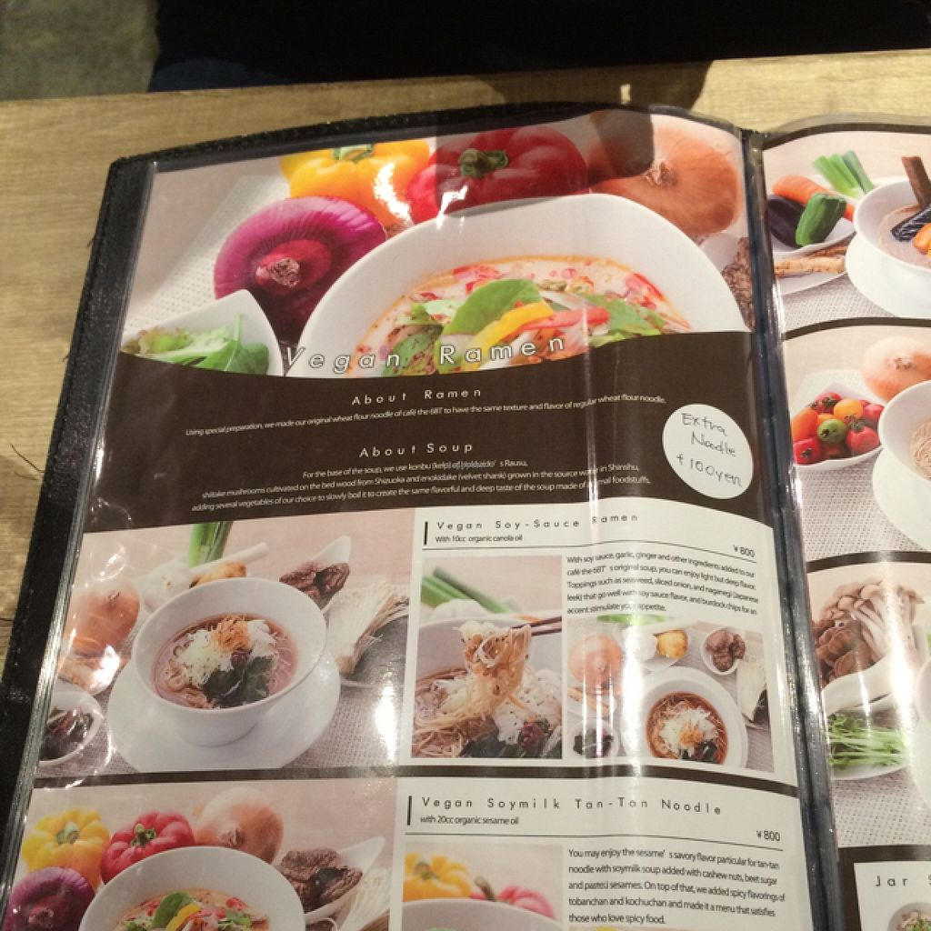 """Photo of CLOSED: Cafe the 6BT  by <a href=""""/members/profile/Lyndalm"""">Lyndalm</a> <br/>ramen page 1 <br/> January 23, 2016  - <a href='/contact/abuse/image/60065/133459'>Report</a>"""