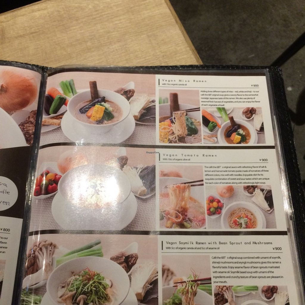 """Photo of CLOSED: Cafe the 6BT  by <a href=""""/members/profile/Lyndalm"""">Lyndalm</a> <br/>ramen page 2 <br/> January 23, 2016  - <a href='/contact/abuse/image/60065/133460'>Report</a>"""