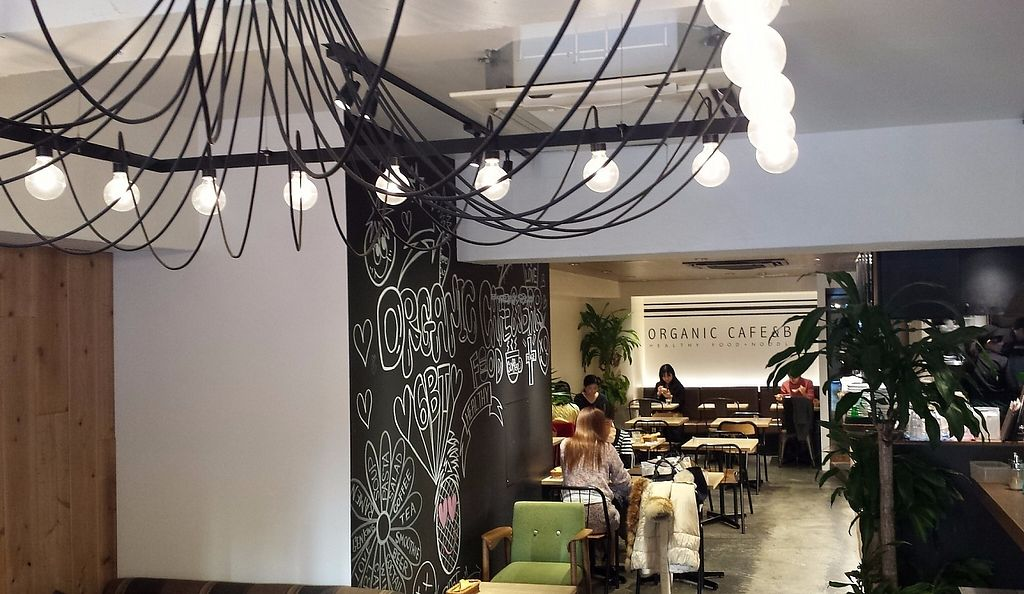 """Photo of CLOSED: Cafe the 6BT  by <a href=""""/members/profile/Gally"""">Gally</a> <br/>The light fixture in the entryway is cool; kind of reminds me of an octopus. Too bad the food is bland and unsatisfying and the service is atrocious <br/> January 8, 2017  - <a href='/contact/abuse/image/60065/209471'>Report</a>"""