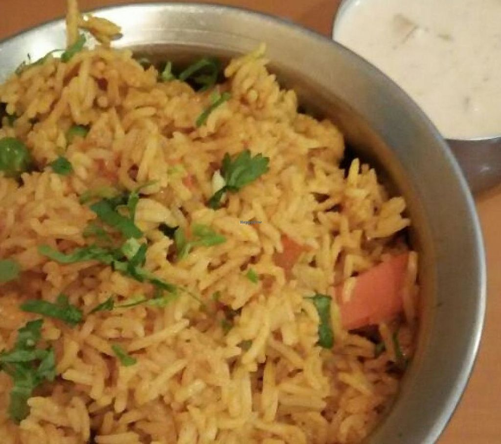 "Photo of Raj Restaurant  by <a href=""/members/profile/JimmySeah"">JimmySeah</a> <br/>vegetables biryani with basmasti rice <br/> March 21, 2015  - <a href='/contact/abuse/image/6007/275808'>Report</a>"