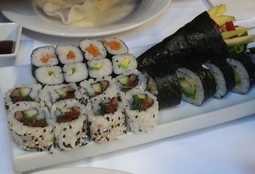 """Photo of Teppan  by <a href=""""/members/profile/kristienhelena"""">kristienhelena</a> <br/>the sushi dish i got! <br/> August 14, 2015  - <a href='/contact/abuse/image/60098/241468'>Report</a>"""